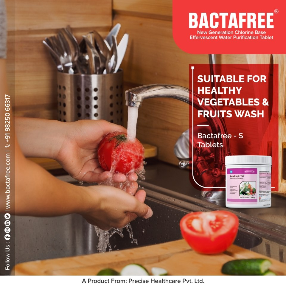 Bactafree - S for vegetable & fruits cleaning
