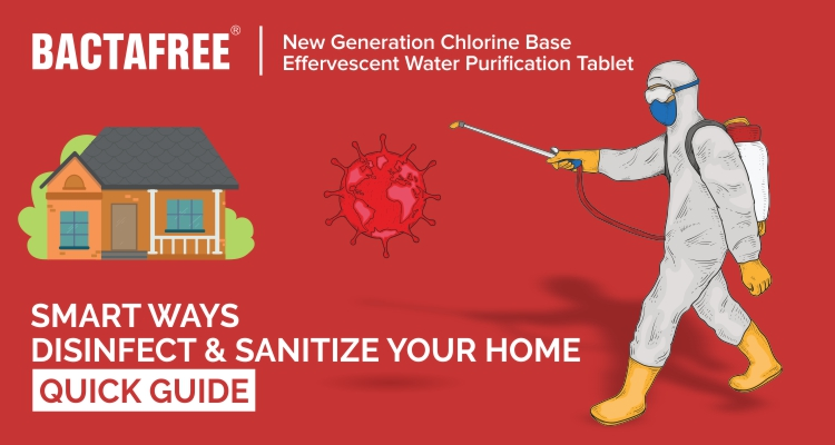 Smart Ways Disinfect & Sanitize Your Home - Quick Guide