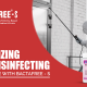 sanitizing and disinfecting Your home with bactafree - s