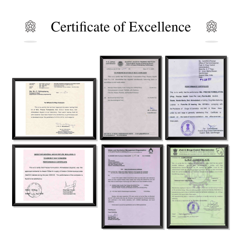 Bactafree Certificate-of-Excellence